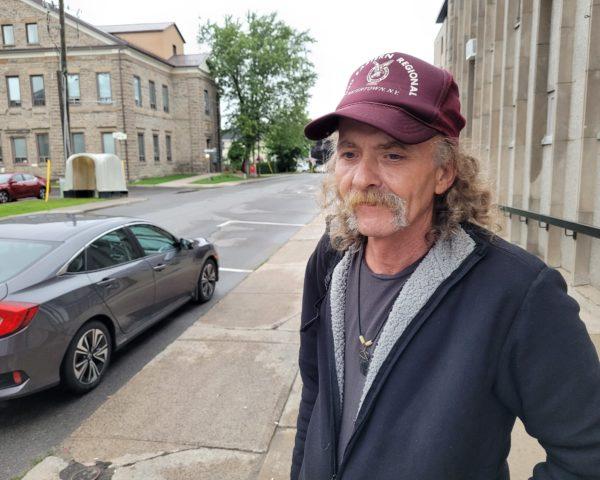 homeless man in brockville