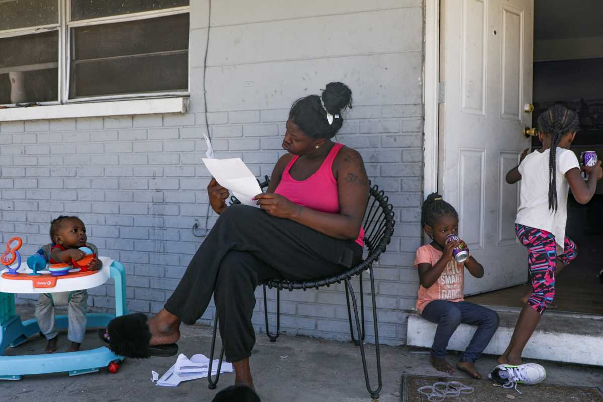 Tampa family faces eviction, evict