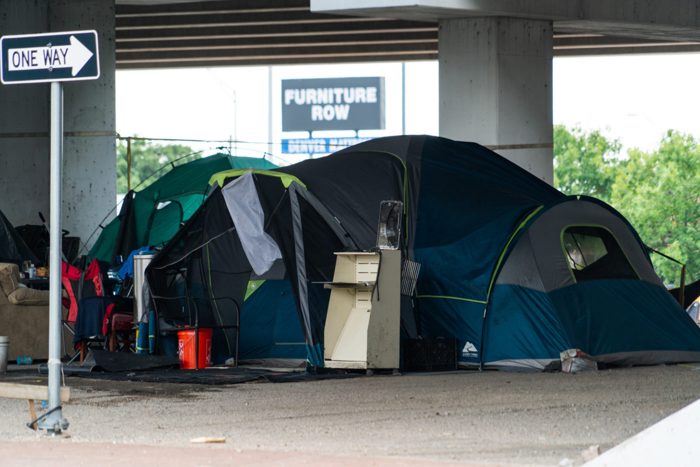 Austin Homeless Camp