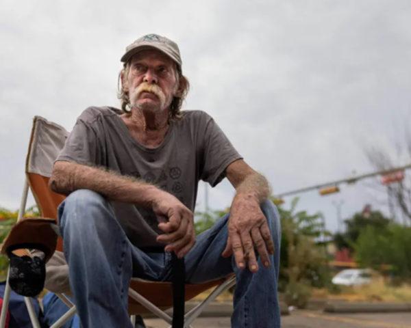 Homeless Encampment in Austin