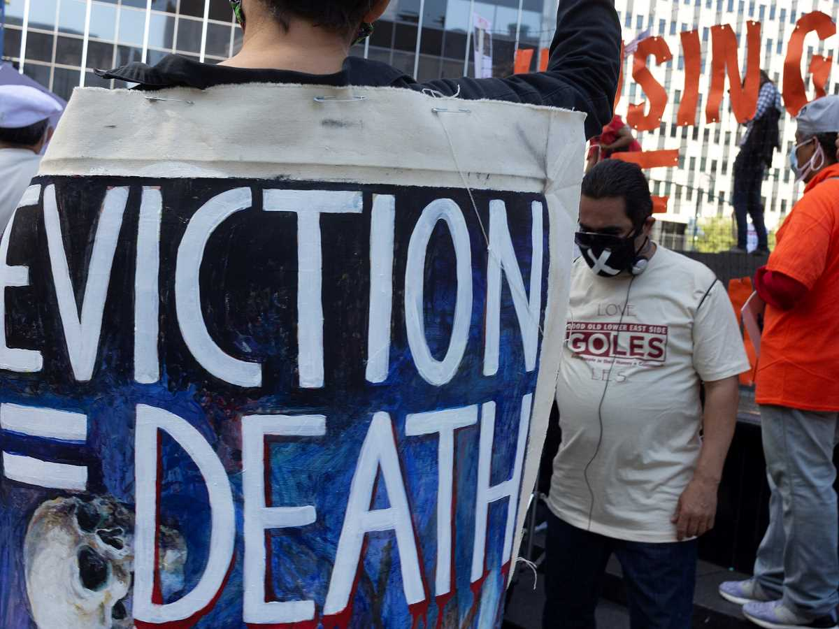 Evictions equal death